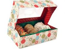 Food Network: Paula Deen Holiday Medium Cookie Boxes (Set of 4 ...